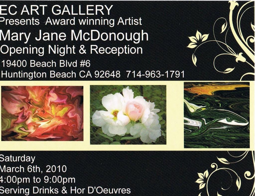 MJM Art Show